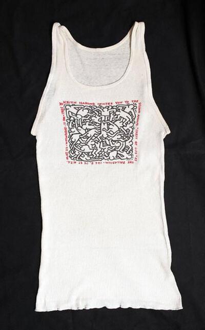 Keith Haring, 'Keith Haring Party of Life shirt Palladium NYC', 1985