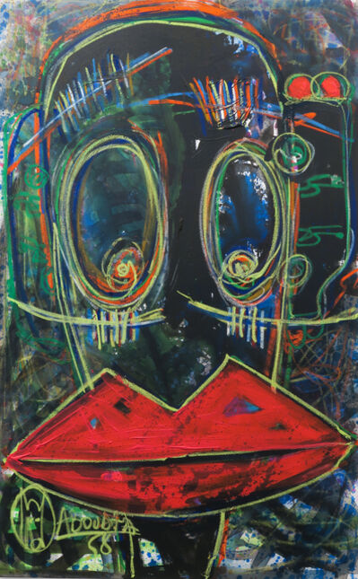 Aboudia, 'Rouge a levres', 2015