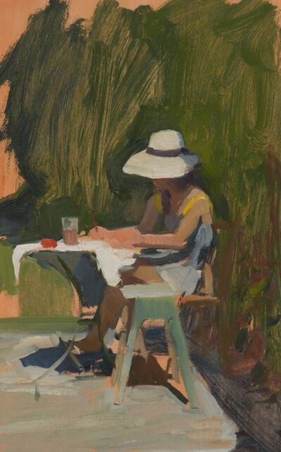 Marc Dalessio, 'Tina Painting', 2015