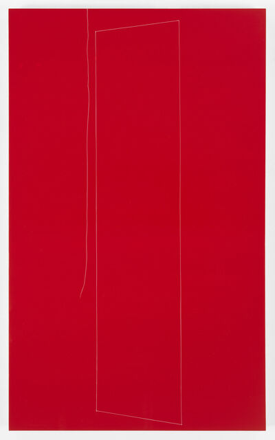 Kate Shepherd, 'Red Structure, Little Sister thread, 2', 2016