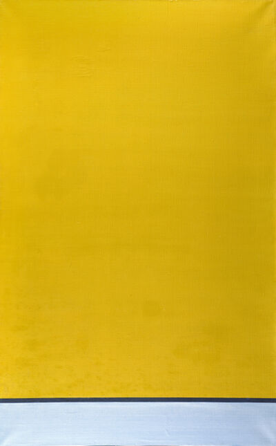 Howard Smith, 'Untitled (The Yellow Painting)', 1974