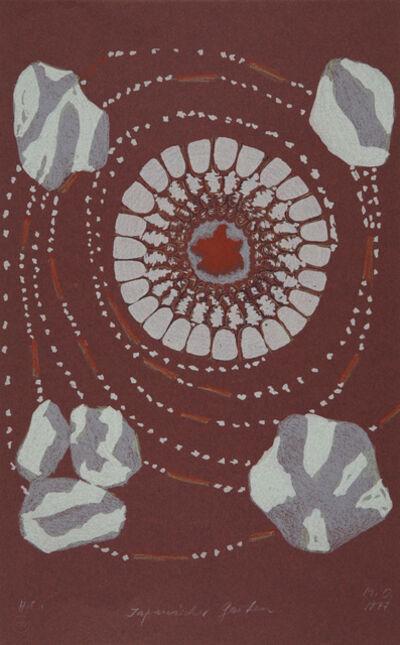 Méret Oppenheim, 'Japanischer Garten', 1976