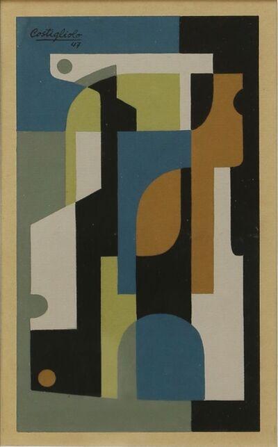 José Pedro Costigliolo, 'Composiciónvertical', 1947