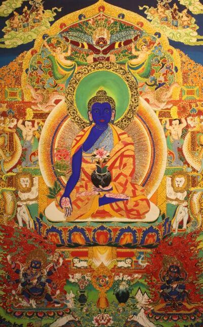 ZHENG XiLin, 'Medicine Buddha Bhaiṣajyaguru 葯師佛琉璃光佛', 2014