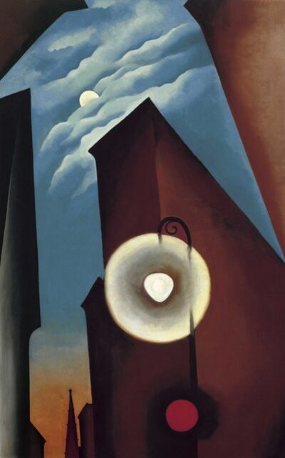 Georgia O'Keeffe, 'New York Street with Moon', 1925