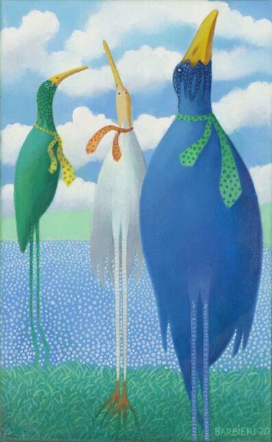 Joseph Barbieri, 'Wading Birds Waiting', 2020