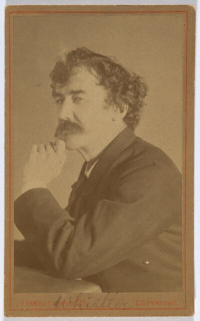 London Stereoscopic Co., 'James McNeill Whistler', 1879