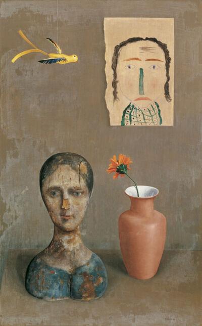 Rudolf Wacker, 'Two Heads', 1932