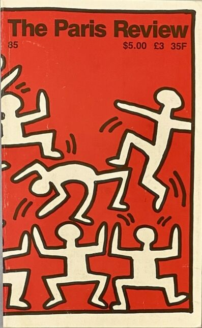 Keith Haring, 'Keith Haring The Paris Review 1982', 1982