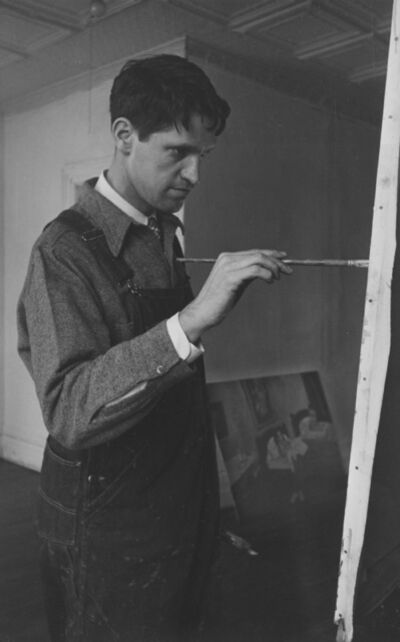 Ellen Auerbach, 'Fairfield Porter', 1944