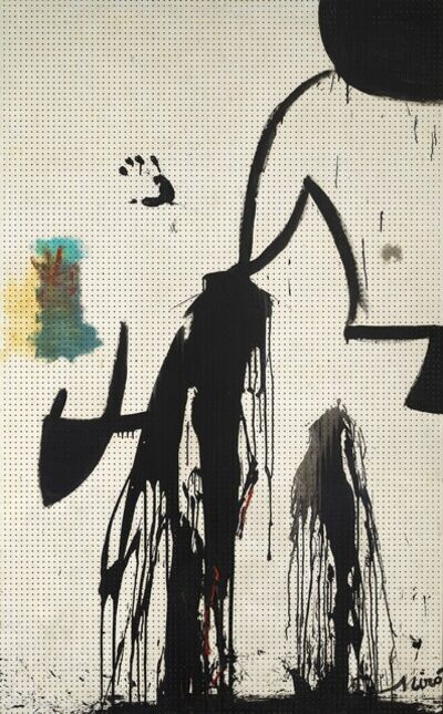 Joan Miró, 'Peinture (Projet pour une tapisserie)', 1973-74
