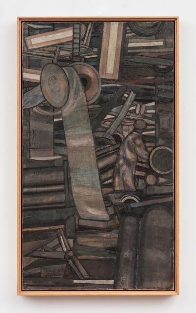 Prunella Clough, 'Factory Interior (Wool Carding Shop)', 1954
