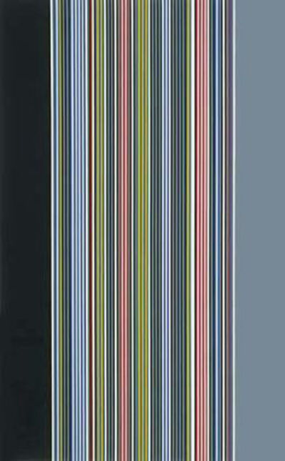Gene Davis, 'Black Watch I', 1974