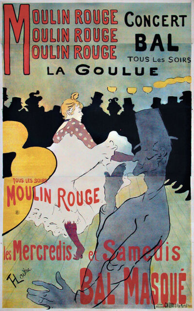 Henri de Toulouse-Lautrec, 'Moulin Rouge', 1891