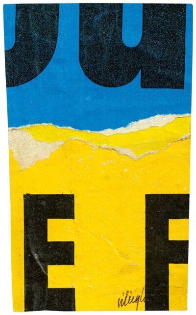 Jacques Villeglé, 'Untitled'