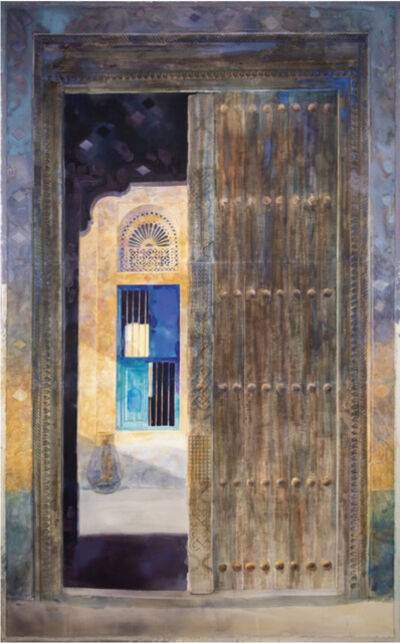 Abdul Qader Al Rais, 'Door', 2020
