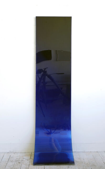 Carrie Yamaoka, '72 by 18 (deep blue fade)', 2009
