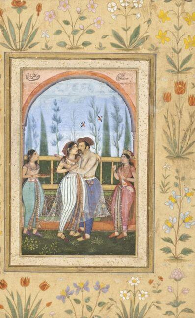 Govardhan, 'Dalliance on a Terrace', ca. 1615-1620