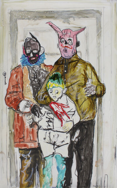 Farley Aguilar, 'Parents with Boy', 2015