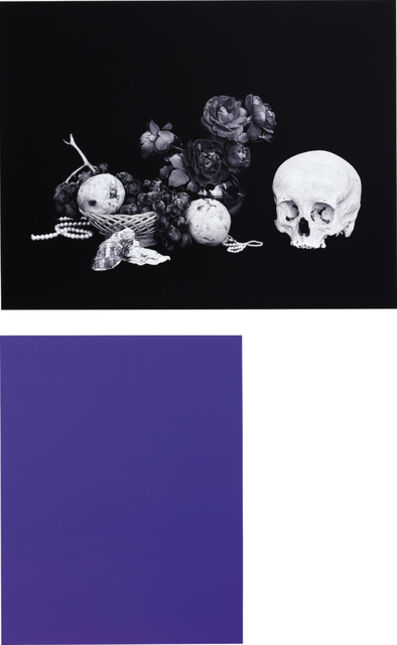 Shirana Shahbazi, 'Two works: (i) [Monochrome-01-2007]; (ii) [Stillleben-15-2007]', 2007