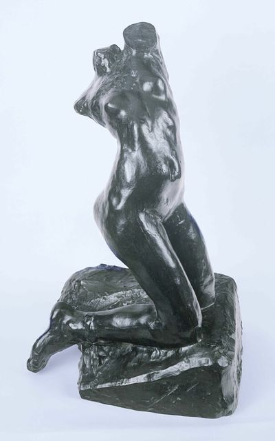 Auguste Rodin, 'Female Torso, Kneeling, Twisting Nude', unknown-cast 1984