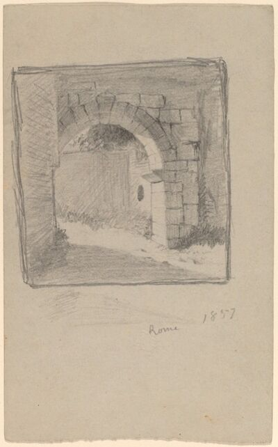 Elihu Vedder, 'Rome', 1857