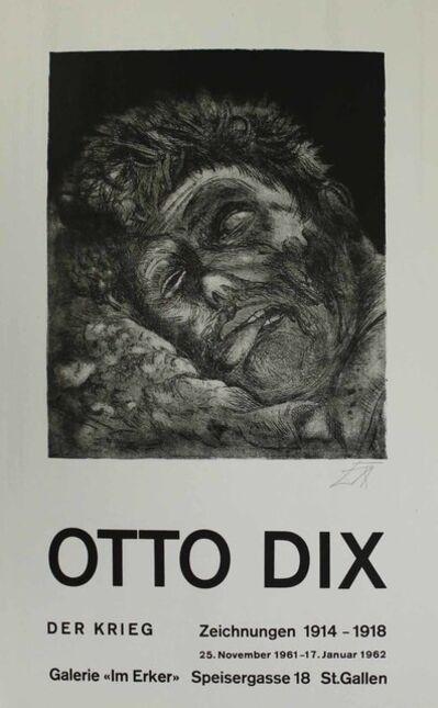 Otto Dix, 'Toter (St. Clément) [Dead Man (St. Clément)]', 1961