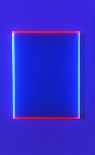 Regine Schumann, 'Color satin ice blue Bogota', 2019