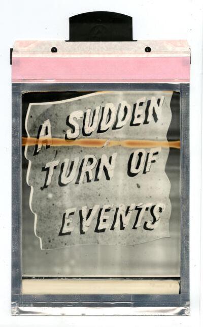 Corey Escoto, 'A Sudden Turn of Events', 2016