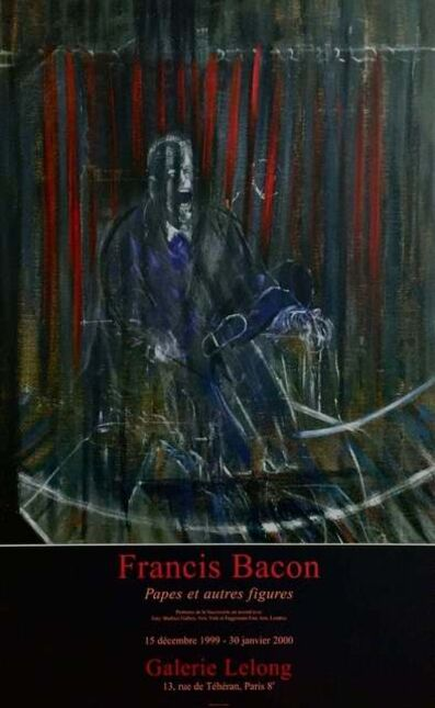 Francis Bacon, 'Pope Innocent X, Galerie Lelong Exhibition Poster', 1999