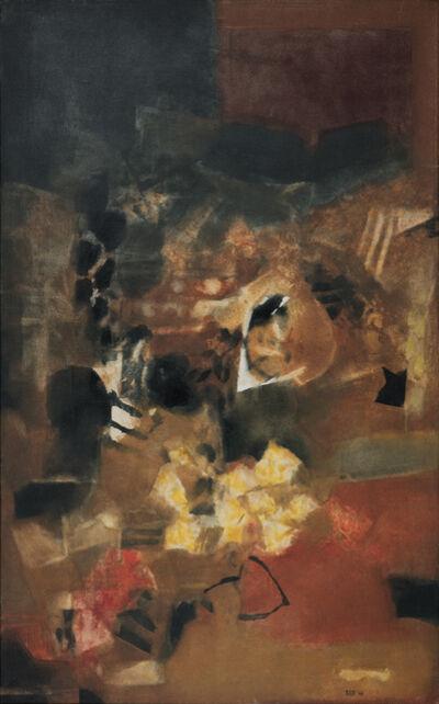 S. H. Raza, 'La Mine', 1966