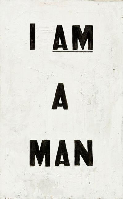Glenn Ligon, 'Untitled (I Am a Man)', 1988