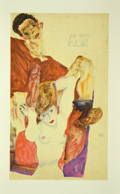 Egon Schiele, 'The Red Host', 2007