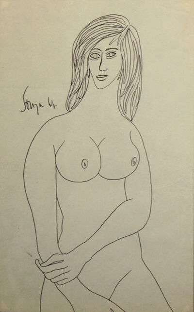 Francis Newton Souza, 'Untitled (Nude Female)', 1964