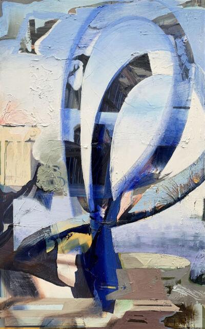 Ellen Heck, 'Blue Mobius', 2019