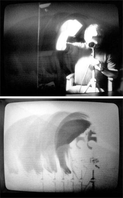 David Hall, 'Vidicon Inscriptions: The Tape', 1955