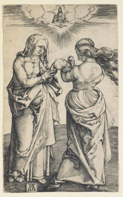Albrecht Dürer, 'The Virgin and Child with Saint Anne (B. 29; M., Holl. 43; S.M.S. 27)', ca. 1500