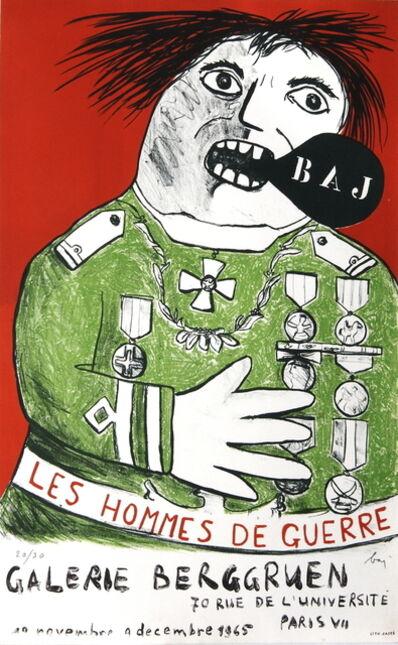 Enrico Baj, 'Les Hommes De Guerre', 1965