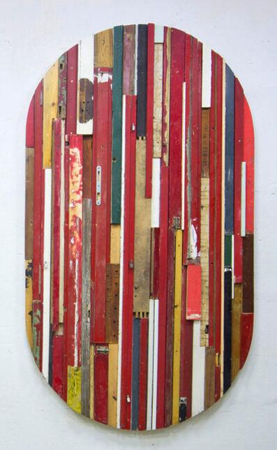 Branislav Nikolić, 'City Mirror (Red Ellipse)', 2014
