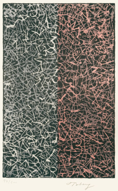 Mark Tobey, 'Half and Half', 1970