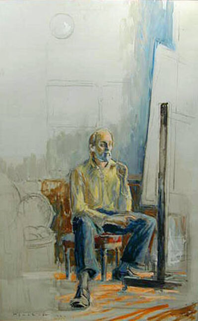 Joseph Plaskett, 'Painter at Work #3'