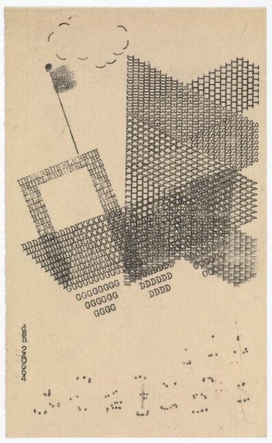 Dom Sylvester Houédard, '240664 (Brunel)', 1964