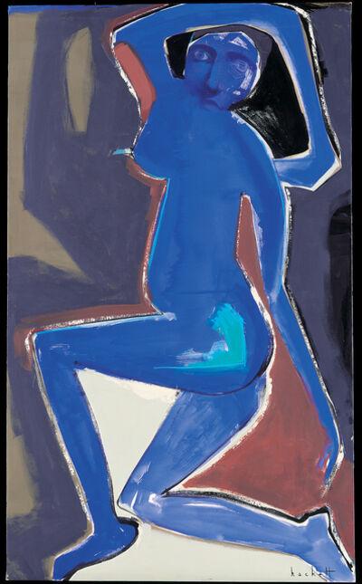 Linda Hackett, 'Blue Performance', 1998