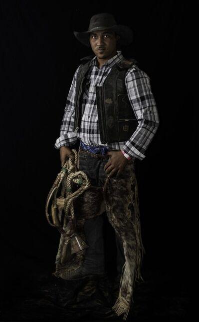 Don Russell, 'Deante Thornton, Bull Rider', 2015