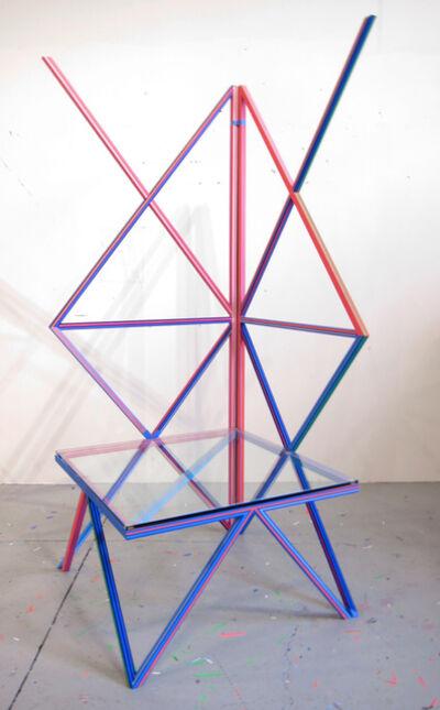 Kelley Johnson, 'Untitled Radio Lounge Series (large seat)', 2018
