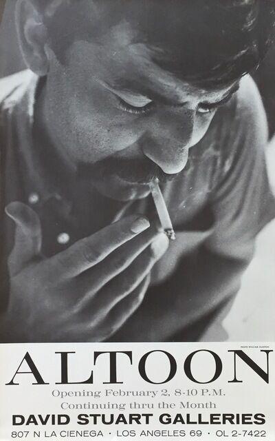 John Altoon, 'Vintage Exhibition Poster ', 1964