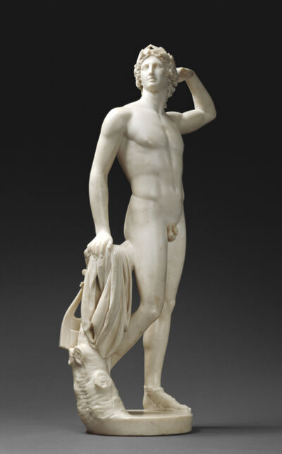 Antonio Canova, 'Apollo Crowning Himself', 1781-1782