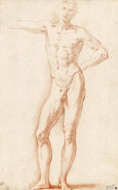 Francesco Mazzola, called Parmigianino, 'A male nude'