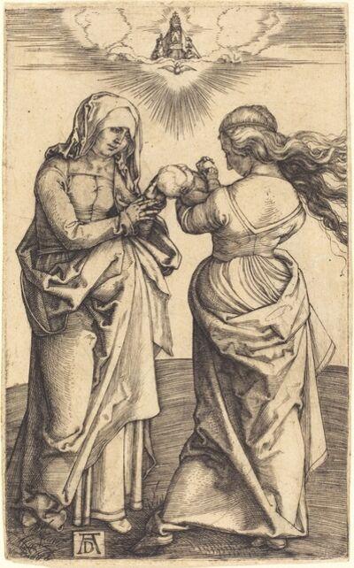 Albrecht Dürer, 'The Virgin and Child with Saint Anne', ca. 1500