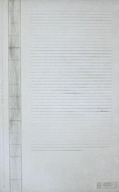 Shusaku Arakawa, 'Untitled', 1966